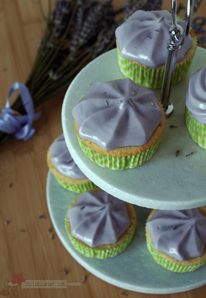 Lavendel Cupcakes 1