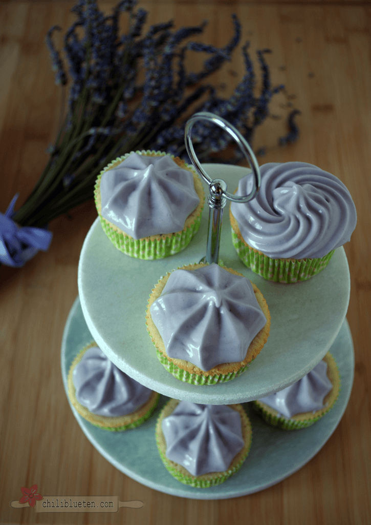 Lavendel Cupcakes 2