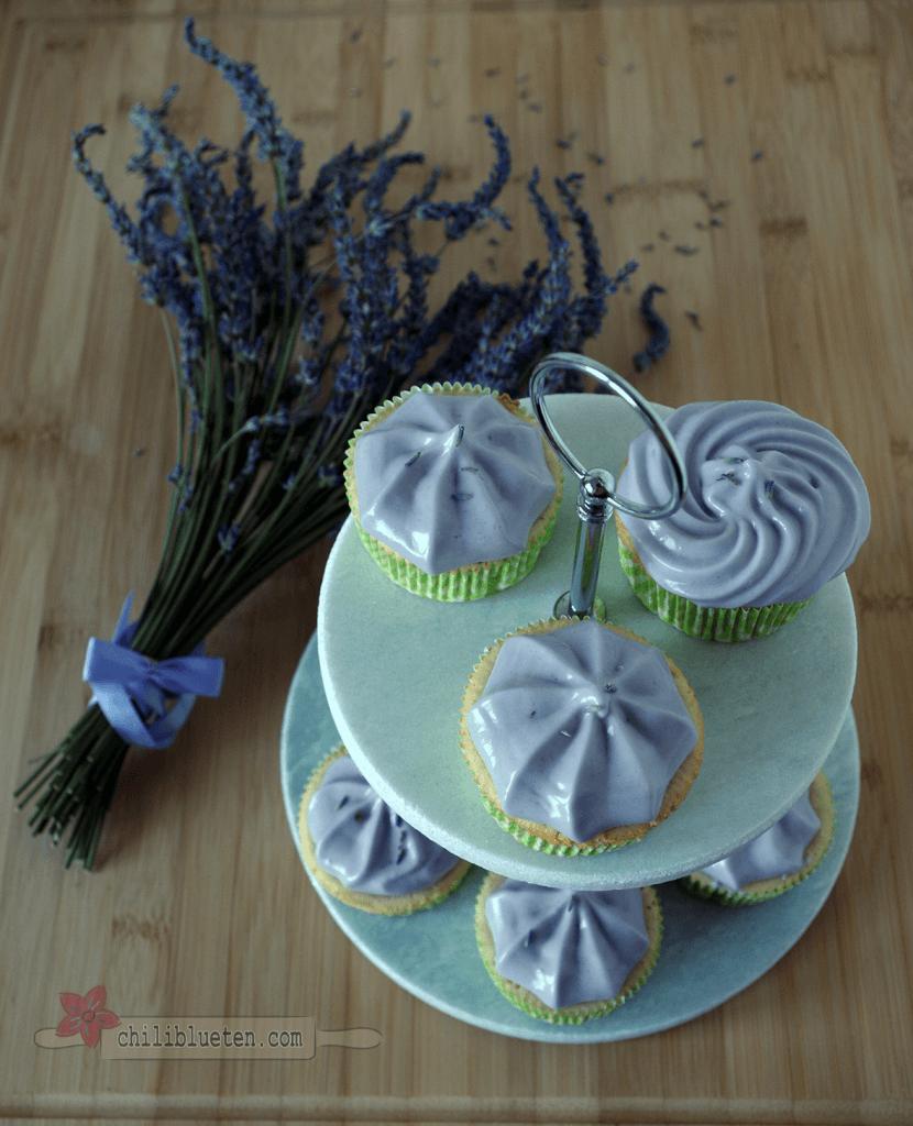 Lavendel Cupcakes 4