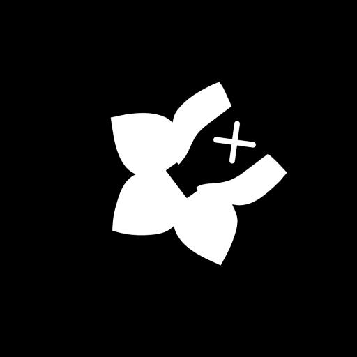 Chiliblüten Logo schwarz