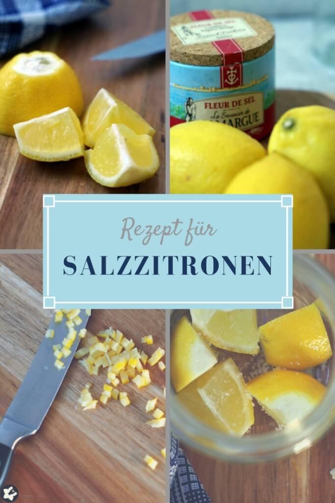 Salzzitronen: Zitronen mit Salz