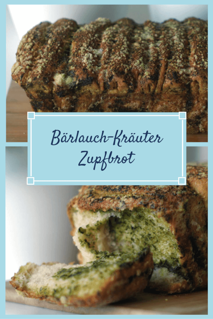 chilibluetendotcom Bärlauch-Kräuter Zupfbrot