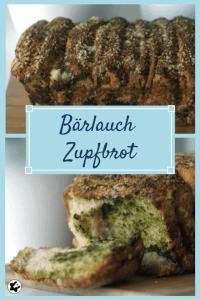 chilibluetendotcom Bärlauch-Zupfbrot perfekt zum Grillen laktosefrei