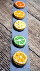 Zitruskekse: Laktosefreie Kekse mit Royal Icing als Zitrone, Limette und Orange | www.chiliblueten.com