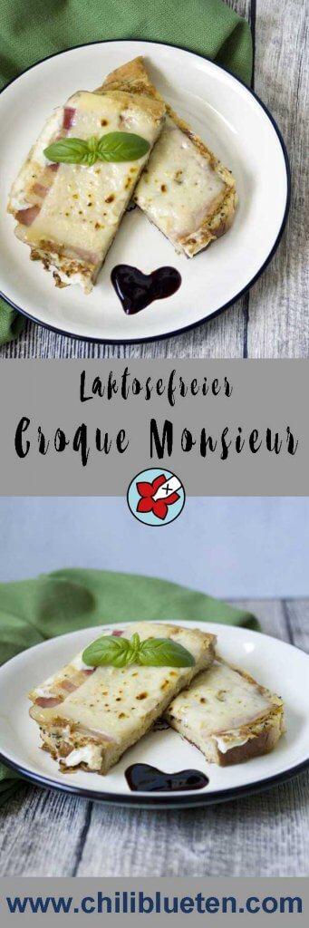 Croque Monsieur mit Bacon und Käse #laktosefrei | chilibluetendotcom