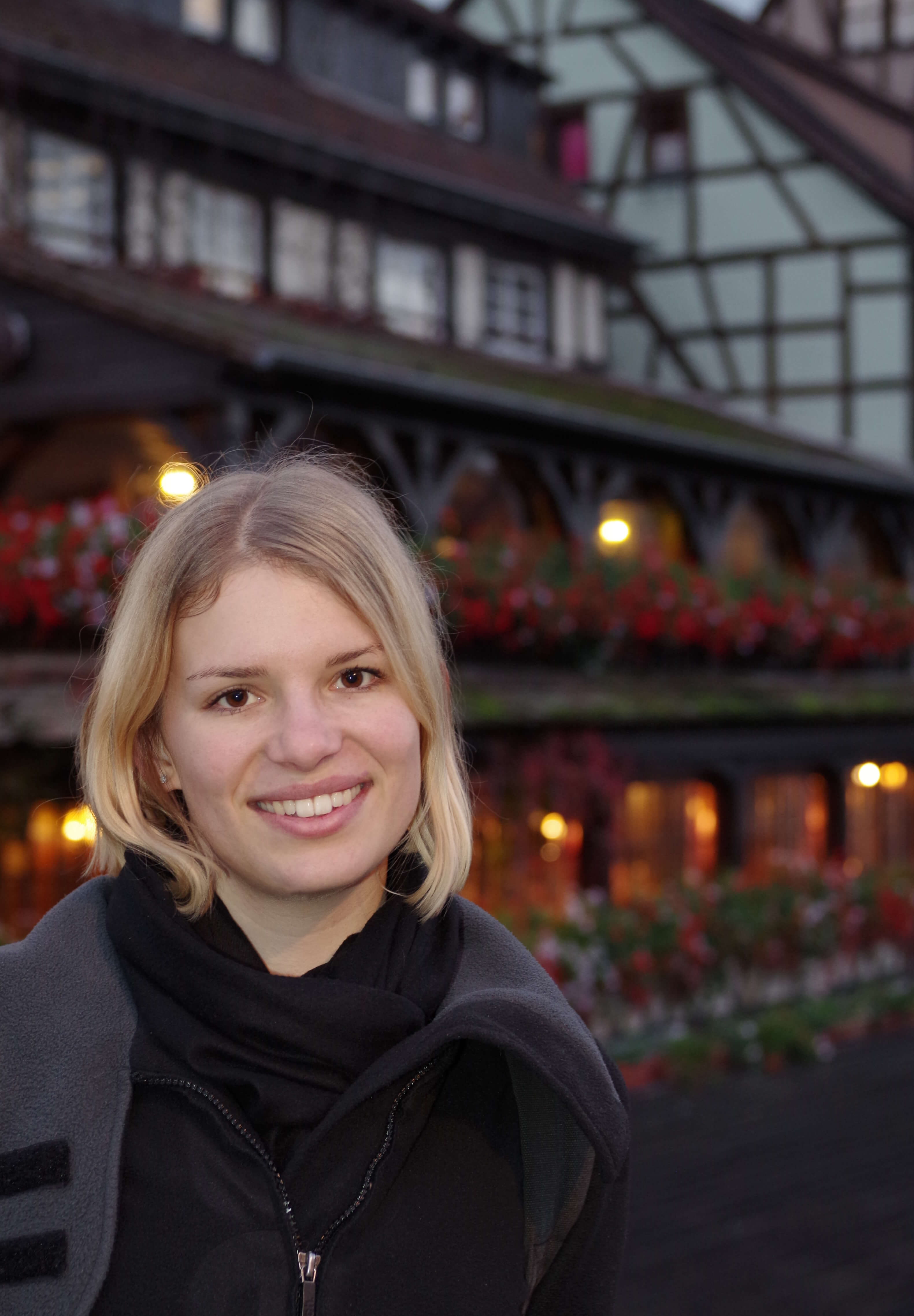 Lisa in Straßburg