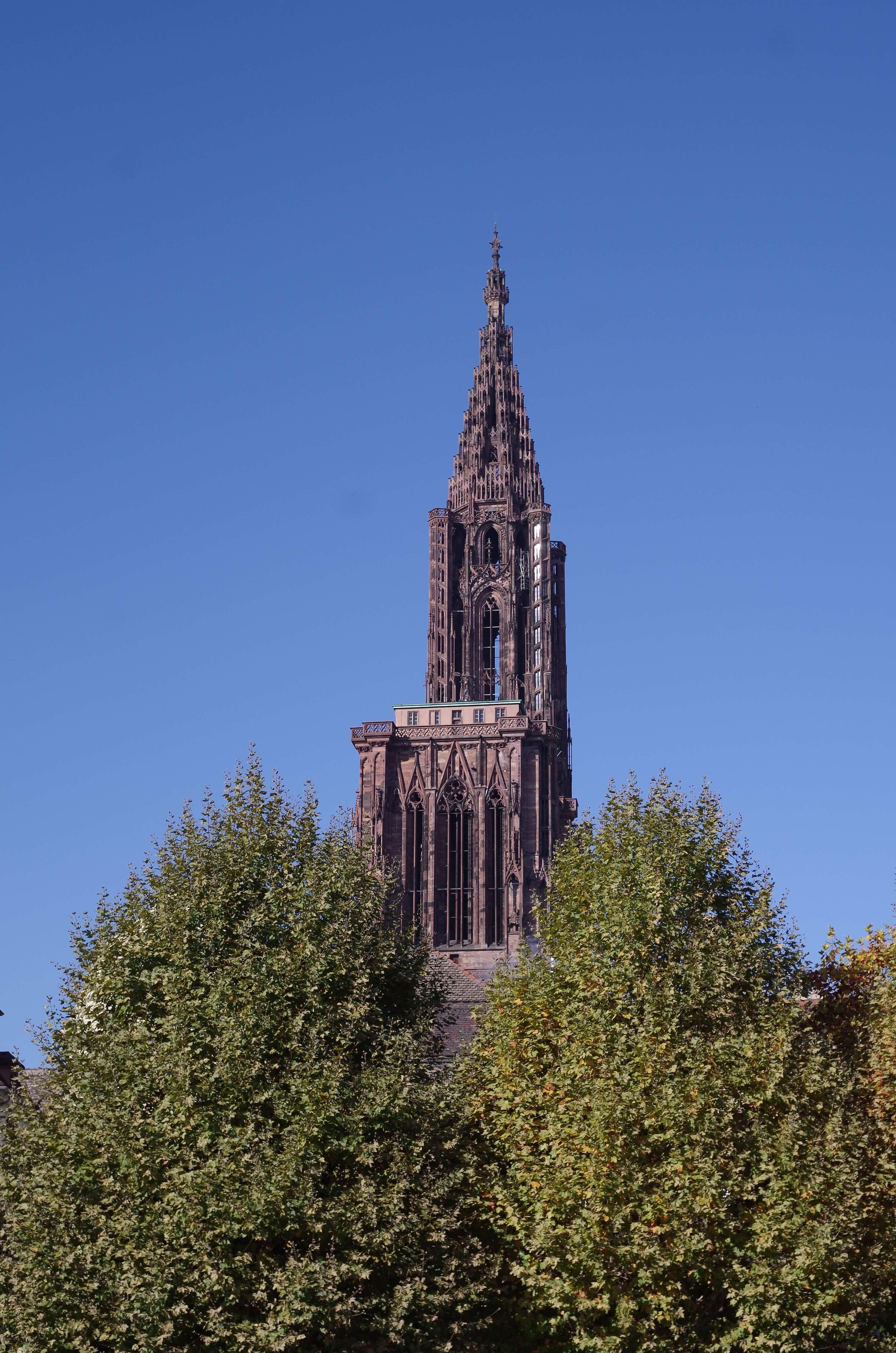 Kathedrale Notre Dame in Straßburg Turm