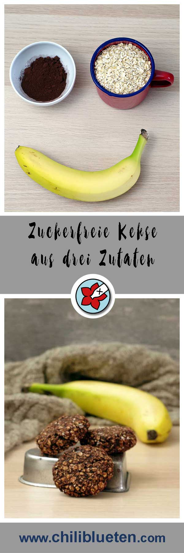 Zuckerfreie Kekse #laktosefrei | chilibluetendotcom