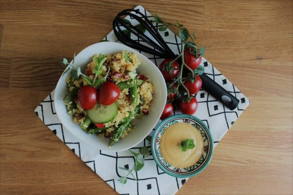 Sommerlicher Couscoussalat mit Ras el-Hanout | chilibluetendotcom