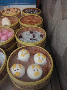 Chinesische laktosefreie Dampfnudeln aus Reismehl.