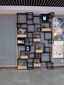 Dekoration in einer Shoppingmall.