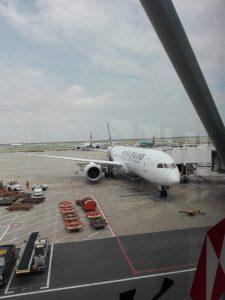 Mein Weiterflug nach Neuseeland.