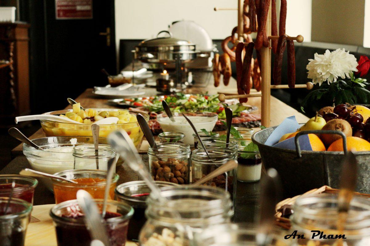 Brunch im Restaurant Im Schlachthof #Karlsruhe #laktosefrei | chilibluetendotcom
